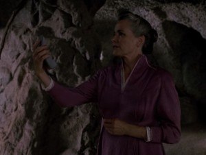 "Dr. Kila Marr, from Star Trek: The Next Generation, Season 5, Episode 4, ""Silicon Avatar"""